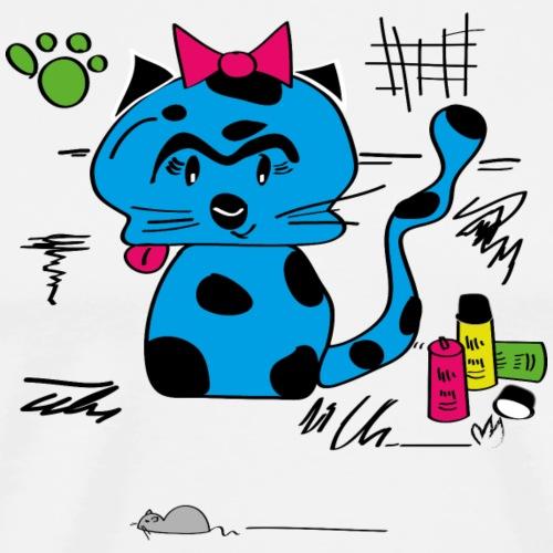 blue cat - Männer Premium T-Shirt