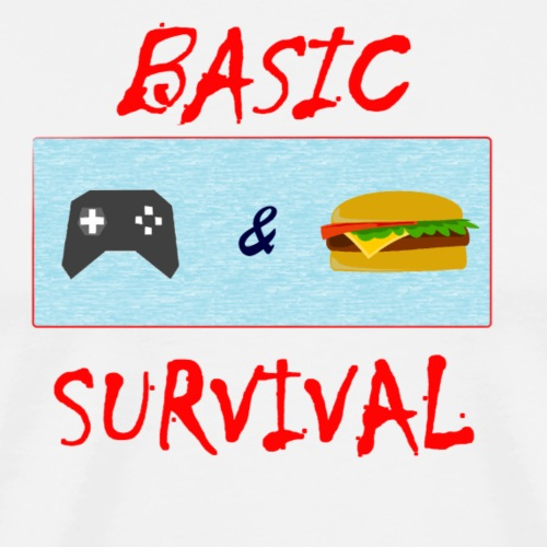Basic Survival - Men's Premium T-Shirt