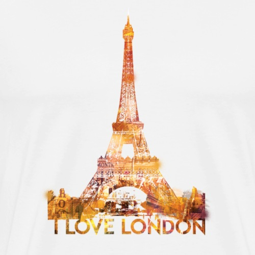 I love London 2 - Mannen Premium T-shirt