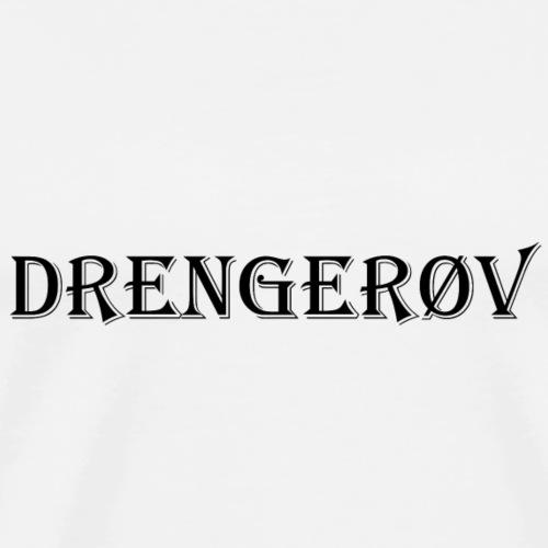 Drenger vLogo - Herre premium T-shirt