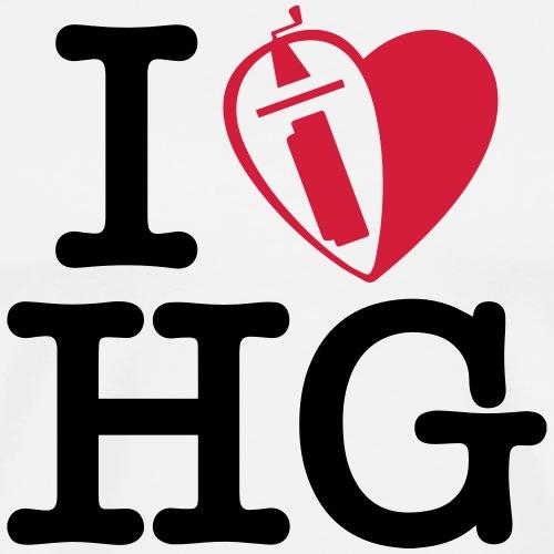 ILHG 2r - Maglietta Premium da uomo