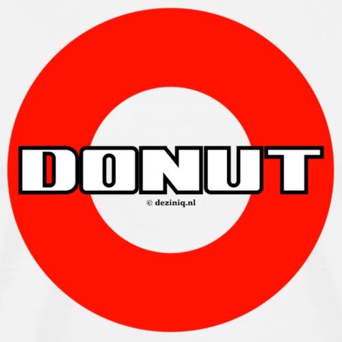 Donut - Mannen Premium T-shirt