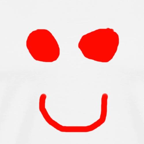 Simple smile - T-shirt Premium Homme
