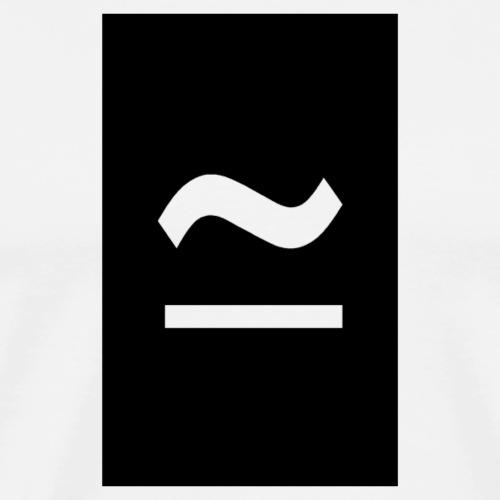 The Commercial Logo Black New - Men's Premium T-Shirt