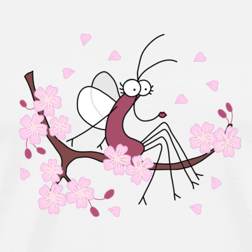 Djen Wana Cherry Blossom - T-shirt Premium Homme