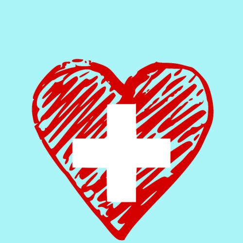 Liebe Schweiz - Männer Premium T-Shirt