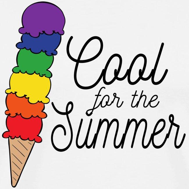 Cool für den Sommer | Eis | Regenbogen