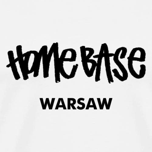Home City Warsaw - Männer Premium T-Shirt
