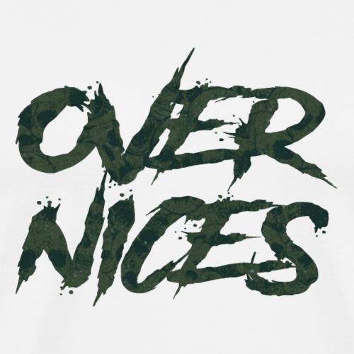 Over Nices | Nobody's Land - Maglietta Premium da uomo