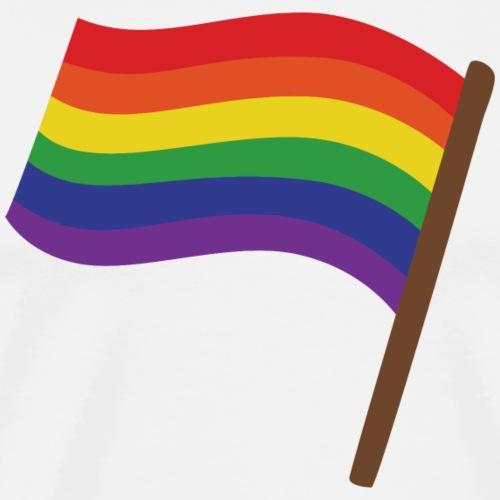 Regenbogenfahne | Geschenk Idee | LGBT - Männer Premium T-Shirt