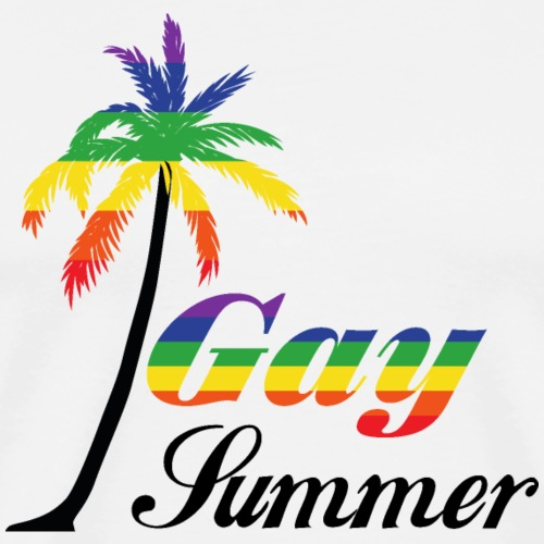 Gay Sommer | Regenbogen | LGBT - Männer Premium T-Shirt