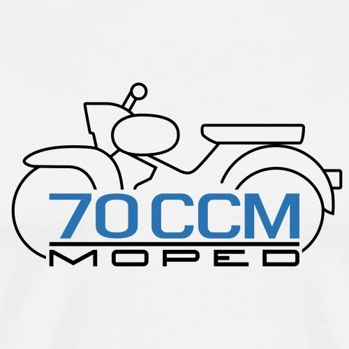 Moped Star 70 ccm Emblem - Men's Premium T-Shirt