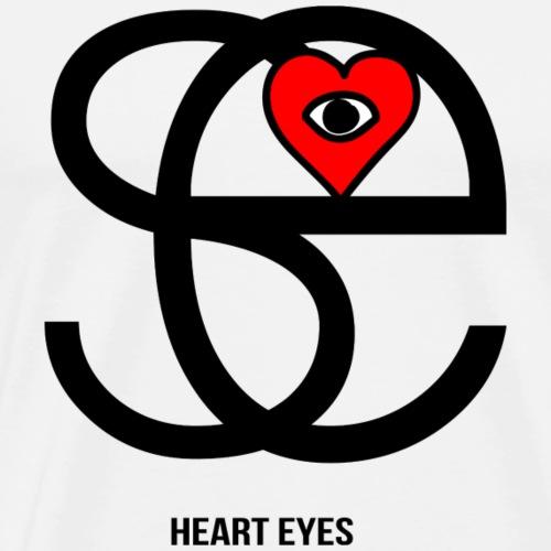 heart eyes - T-shirt Premium Homme