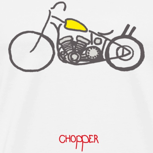 chopper - T-shirt Premium Homme