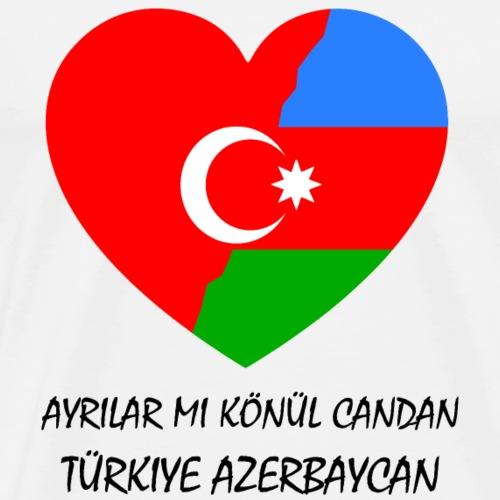 Aserbaidschan Türkei - Männer Premium T-Shirt