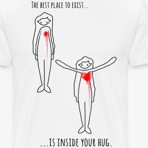 Hugforlife By Therawburt - Premium-T-shirt herr