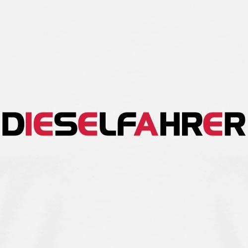 Dieselfahrer - Männer Premium T-Shirt