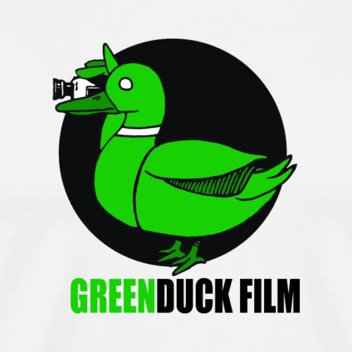 Greenduck Film Logo w. black letters - Herre premium T-shirt
