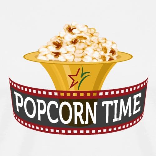 Popcorn Time - Mannen Premium T-shirt