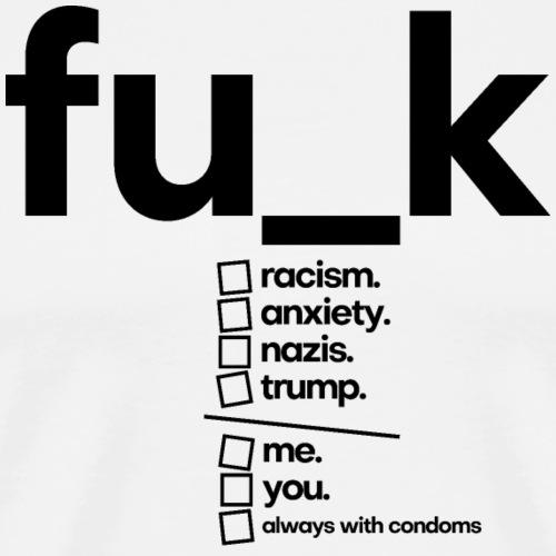 FU_K | I Give A Funk Collection - Männer Premium T-Shirt