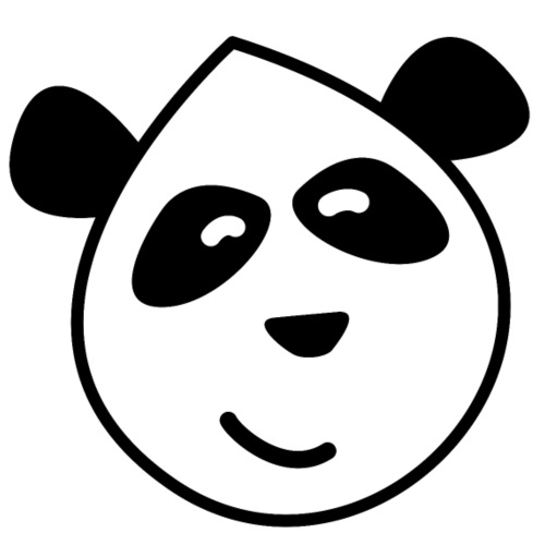 Pandasmiley - Männer Premium T-Shirt