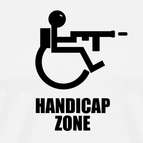 Handicap Zone - Männer Premium T-Shirt