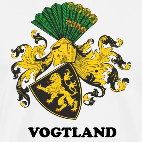 Vogtland Wappen Weida - Männer Premium T-Shirt