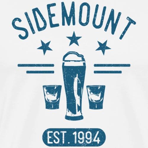Sidem1blue - Männer Premium T-Shirt