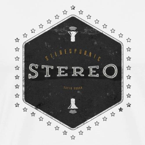 Stereo Super Sound - Männer Premium T-Shirt