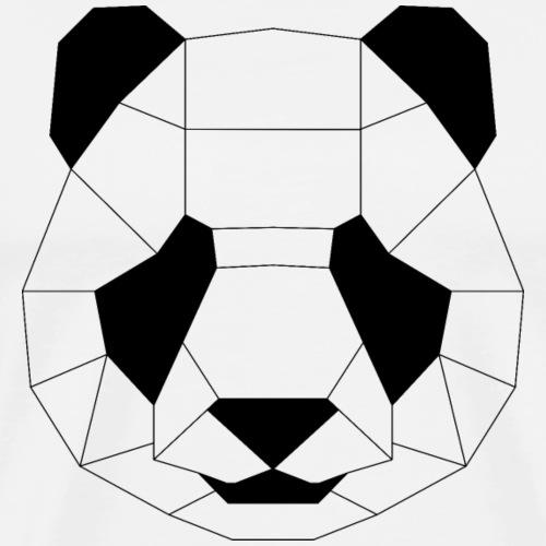 Panda schwarz - Männer Premium T-Shirt