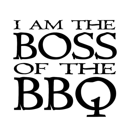 I am the Boss of the BBQ - der Chef am Grill - Männer Premium T-Shirt