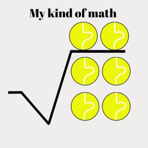 my kind of math - Men's Premium T-Shirt