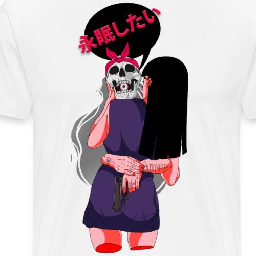 I Want To Die - Männer Premium T-Shirt
