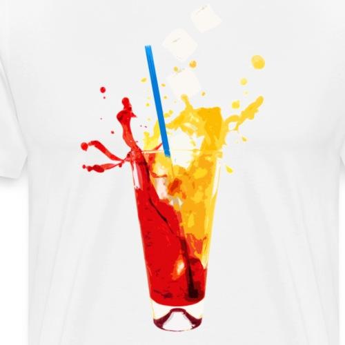 summerdrink freezing cold - Männer Premium T-Shirt