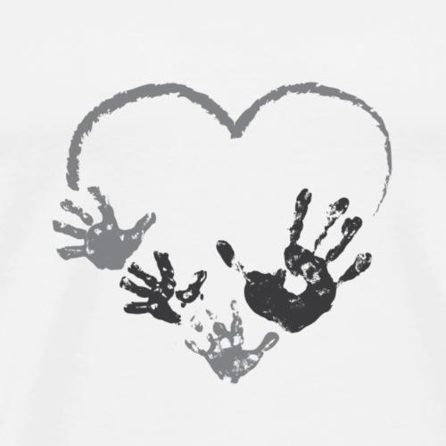 PNDDaddy heart - Men's Premium T-Shirt