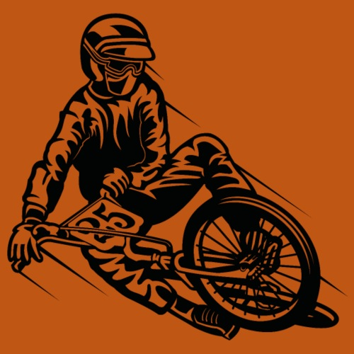 BMX / Mountain Biker 03_schwarz - Männer Premium T-Shirt
