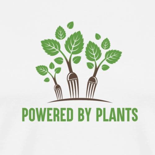 Powered by Plants - Men's Premium T-Shirt