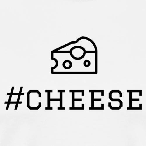 #cheese - Männer Premium T-Shirt