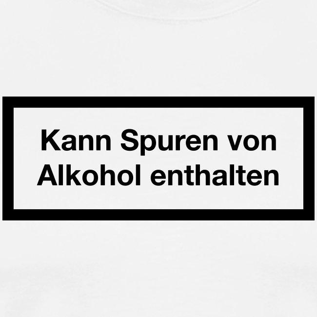Warnhinweis - Kann Spuren Von Alkohol enthalten 1c