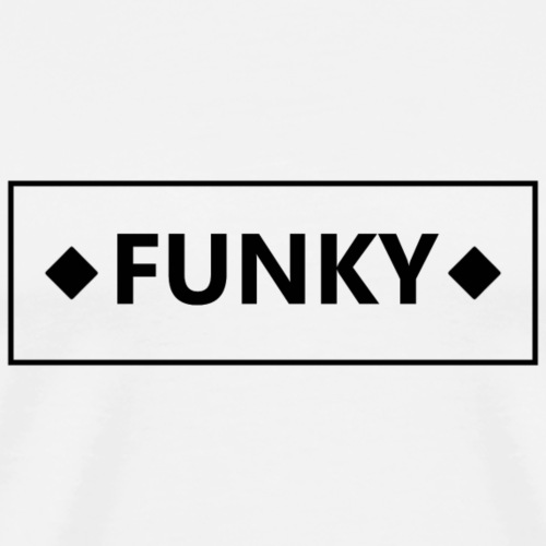 FunkyFrameBlack - Männer Premium T-Shirt