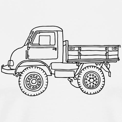 LASTER, Lastwagen, Transporter - Männer Premium T-Shirt