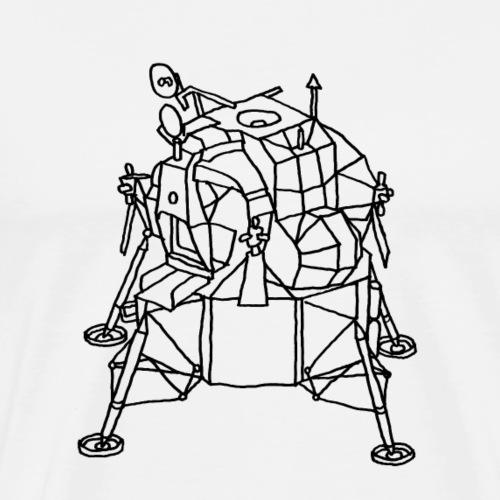 Mondladefähre LEM - Männer Premium T-Shirt