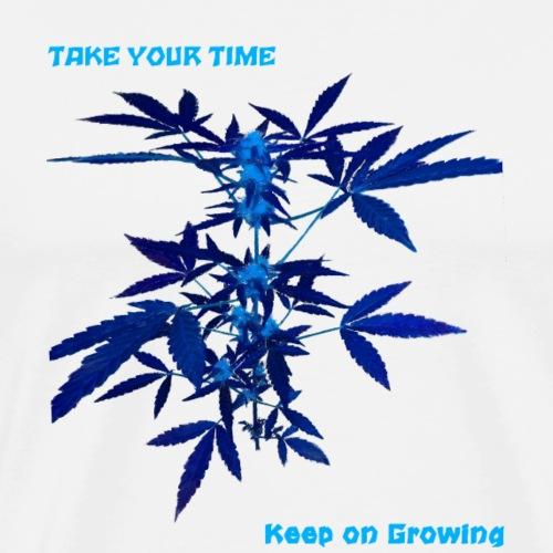 keep on growing 2 - Maglietta Premium da uomo
