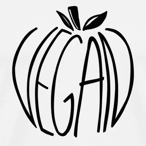 Vegan Apple - T-shirt Premium Homme