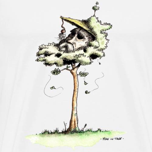 Man in Tree - Männer Premium T-Shirt