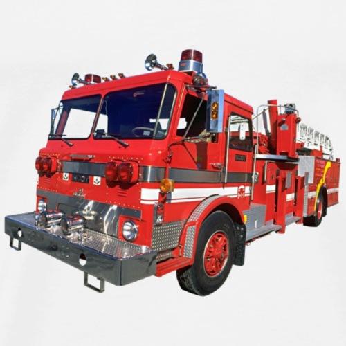 Red Fire Engine - Men's Premium T-Shirt