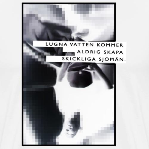 Lugnavatten By TheRawburt - Premium-T-shirt herr