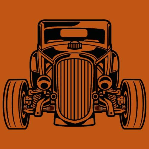 Hot Rod / Rat Rod 07_schwarz - Männer Premium T-Shirt