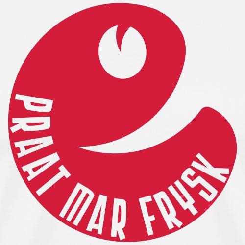 Praat mar Frysk - Mannen Premium T-shirt