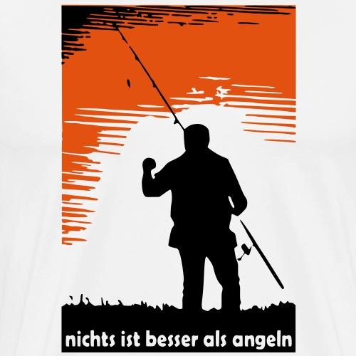 nichts ist besser als angeln - Männer Premium T-Shirt